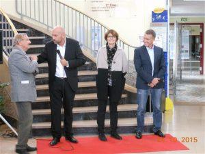 Faculté de Pharmacie - Inauguration du salon 2015